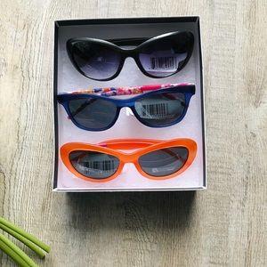 3Pair Sunglasses UV Protection Polycarbonate Lense